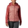 Columbia Women's Ulica Jacket - Large - Dusty Crimson/Cedar Blush Ferny Print