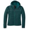 Smartwool Women's Hudson Trail Full Zip Fleece Sweater - XL - Everglade