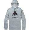 Burton Men's Oak Pullover - Medium - Mountain Grey Heather
