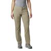 Columbia Women's Just Right Straight Leg Pant - 6 Short - Tusk