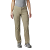 Columbia Women's Just Right Straight Leg Pant - 8 Short - Tusk