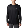 Columbia Men's Terminal Tackle PFG Fish Flag LS Shirt - Medium - Black / Graphite