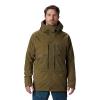 Mountain Hardwear Men's Cloud Bank GTX Insulated Jacket - XL - Combat Green