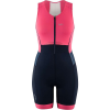 Louis Garneau Women's Sprint Tri Suit - Small - Navy/Pink