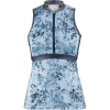 Louis Garneau Women's Art Factory Zircon Sleeveless Top - XL - Blue