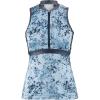 Louis Garneau Women's Art Factory Zircon Sleeveless Top - XXL - Blue