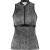 Louis Garneau Women's Art Factory Zircon Sleeveless Top - Large - Black