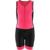 Louis Garneau Juniors' Comp 2 Suit - XS - Black/Pink