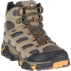 Merrell Men's MOAB 2 Mid Gore-Tex Boot - 7 Wide - Walnut