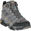 Merrell Women's MOAB 2 Mid Waterproof Boot - 11 Wide - Granite