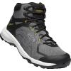 Keen Men's Explore Vent Mid Shoe - 11.5 - Steel Grey / Keen Yellow
