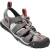 Keen Men's Clearwater CNX Sandal - 8 - Grey Flannel / Potters Clay