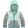The North Face Infant Glacier Hoodie - 24M - Coastal Green
