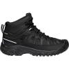 Keen Men's Targhee Exp Mid Waterproof Shoe - 8 - Black / Black