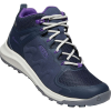 Keen Women's Explore Mid WP Boot - 8 - Blue Nights / Silver Birch