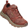 Keen Women's Terradora II Waterproof Shoe - 10 - Cherry Mahogany / Coral