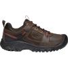 Keen Men's Targhee III Casual Shoe - 8 - Dark Earth / Fired Brick