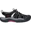 Keen Women's Newport H2 Sandal - 11 - Black / Raspberry Wine