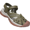 Keen Women's Rose Leather Sandal - 8 - Forest Night
