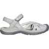 Keen Women's Rose Sandal - 12 - Light Grey / Silver