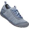 Keen Women's Hush Knit CNX Shoe - 10.5 - Flint Stone / Blue Fog