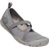 Keen Women's Hush Knit MJ CNX Shoe - 7.5 - Steel Grey / Drizzle