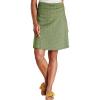 Toad & Co Women's Chaka Skirt - XS - Bronze Green Bandana Print