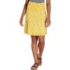 Toad & Co Women's Chaka Skirt - Medium - Pineapple Tossed Floral Print