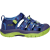 Keen Kids' Newport H2 Shoe - 7 - Blue Depths / Chartreuse