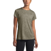The North Face Women's HyperLayer FD SS Top - Large - New Taupe Green Heather