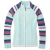 Smartwool Women's Dacono Ski Full Zip Sweater - Small - Nile Blue Heather