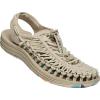Keen Women's Uneek Sandal - 8 - Safari / Multi