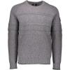 Obermeyer Men's Textured Crewneck Sweater - Medium - Zinc Grey