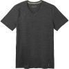 Smartwool Men's Merino 150 SS V Neck Top - Large - Iron Heather