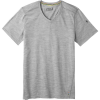 Smartwool Men's Merino 150 SS V Neck Top - Small - Light Grey Heather