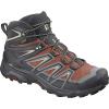 Salomon Men's X Ultra 3 Mid GTX Shoe - 11 - Burnt Brick/Black/Bleached Sand