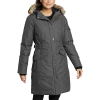 Eddie Bauer Women's Superior III Stadium Coat - Large - Dark Charcoal Heather