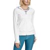 Eddie Bauer Motion Women's Resolution 360 Full Zip Hoodie - XL - White