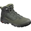 Salomon Men's Outward GTX Boot - 10 - Peat/Black/Burnt Olive