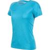Mammut Women's Aegility T-Shirt - Medium - Ocean Melange