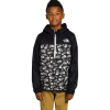 The North Face Youth Fanorak Pullover - Medium - TNF Black Label Toss Print