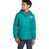 The North Face Youth Zipline Rain Jacket - Medium - Jaiden Green