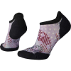 Smartwool Women's PhD Run Light Elite Dot Printed Micro Sock - Medium - Purple Mist