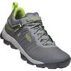 Keen Men's Venture Waterproof Shoe - 8 - Magnet / Chartreuse