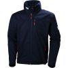 Helly Hansen Men's Crew Hooded Jacket - XXL - Navy