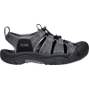 Keen Men's Newport H2 Sandal - 14 - Black / Steel Grey