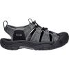 Keen Men's Newport H2 Sandal - 11.5 - Black / Steel Grey