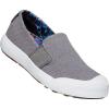 Keen Women's Elena Slip On Shoe - 9.5 - Steel Grey / White