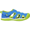 Keen Youth Stingray Sandal - 4 - Brilliant Blue / Chartreuse