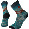 Smartwool Men's PhD Outdoor Light Front Range Printed Crew Sock - Medium - Capri